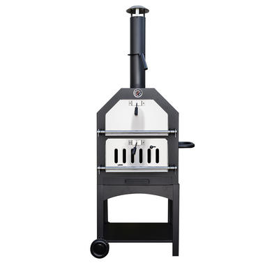 Outdoor Wood Fired Pizza Oven with Tool Set
