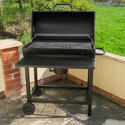 Classic Barrel BBQ with Tool Set