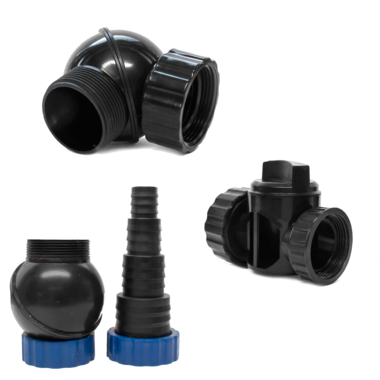 Pisces Replacement Pond Pump Fittings