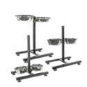 KCT - Adjustable Pet Stand with 2 Bowls