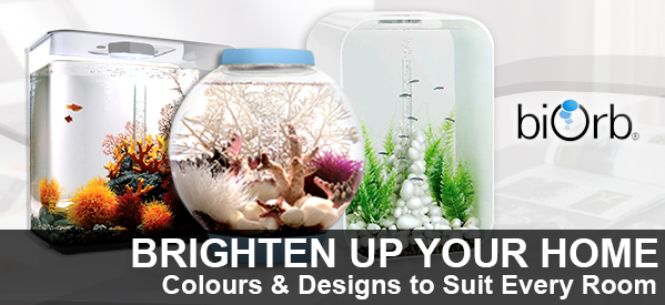 BiOrb Aquariums and Accessoriesfrom Aquatix-2u