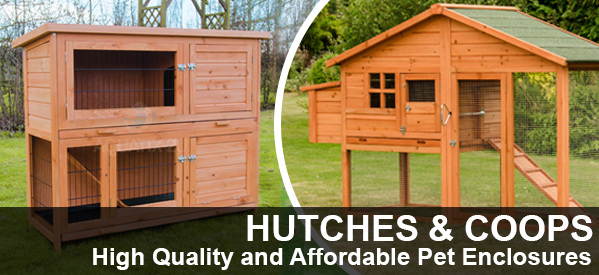 Pet Hutches and Enclosures