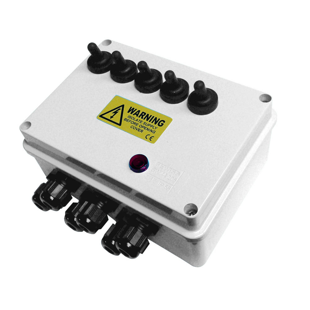 Multi-Switch Outdoor Pond Electrical Switch Boxes - Pisces