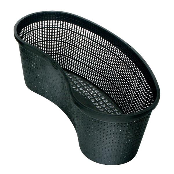 Kidney shaped pond basket for Plastic pond plants