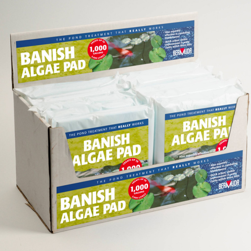how to clean a fish tank instead of algae pad