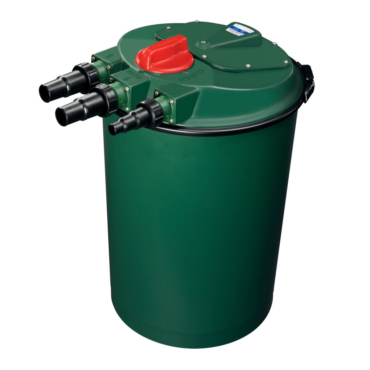 Fish mate powerclenz 45000 p uv pond filter for Pond filter maintenance