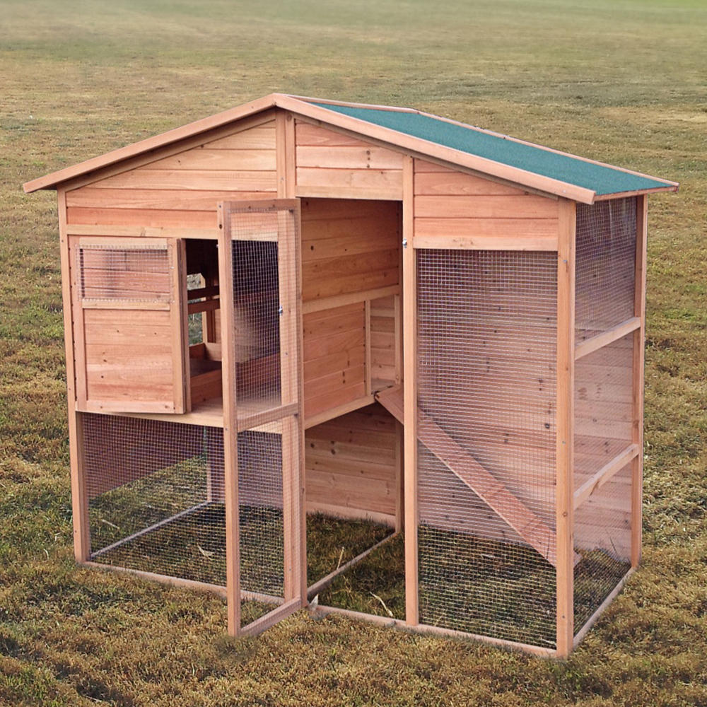 Walk In Chicken House seville chicken coop with walk in run - pisces
