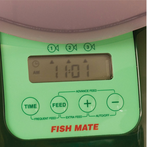 Fish mate p7000 automatic pond fish feeder for Fish feeder for pond