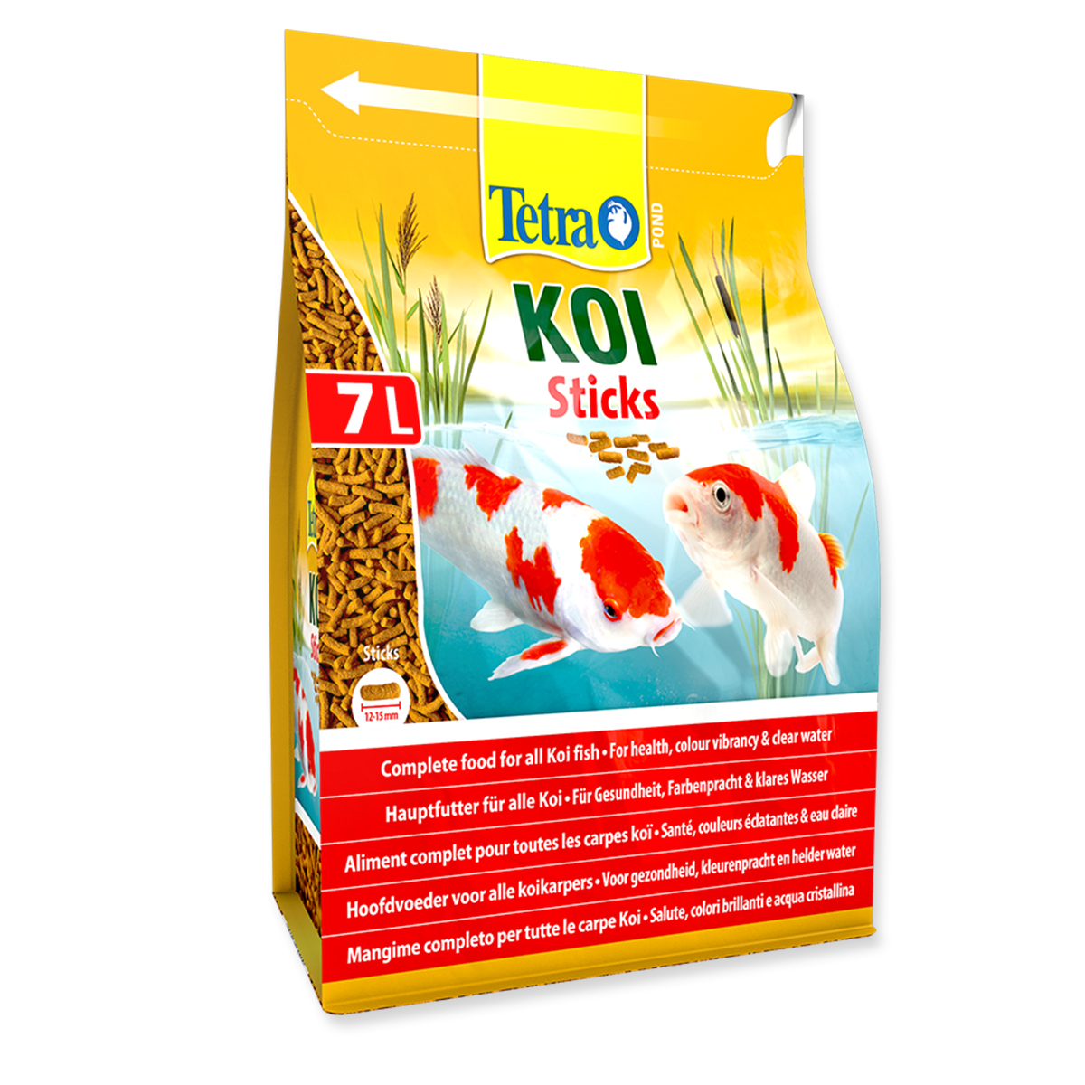Tetra koi sticks 7 litre 1100g for Koi pond sticks