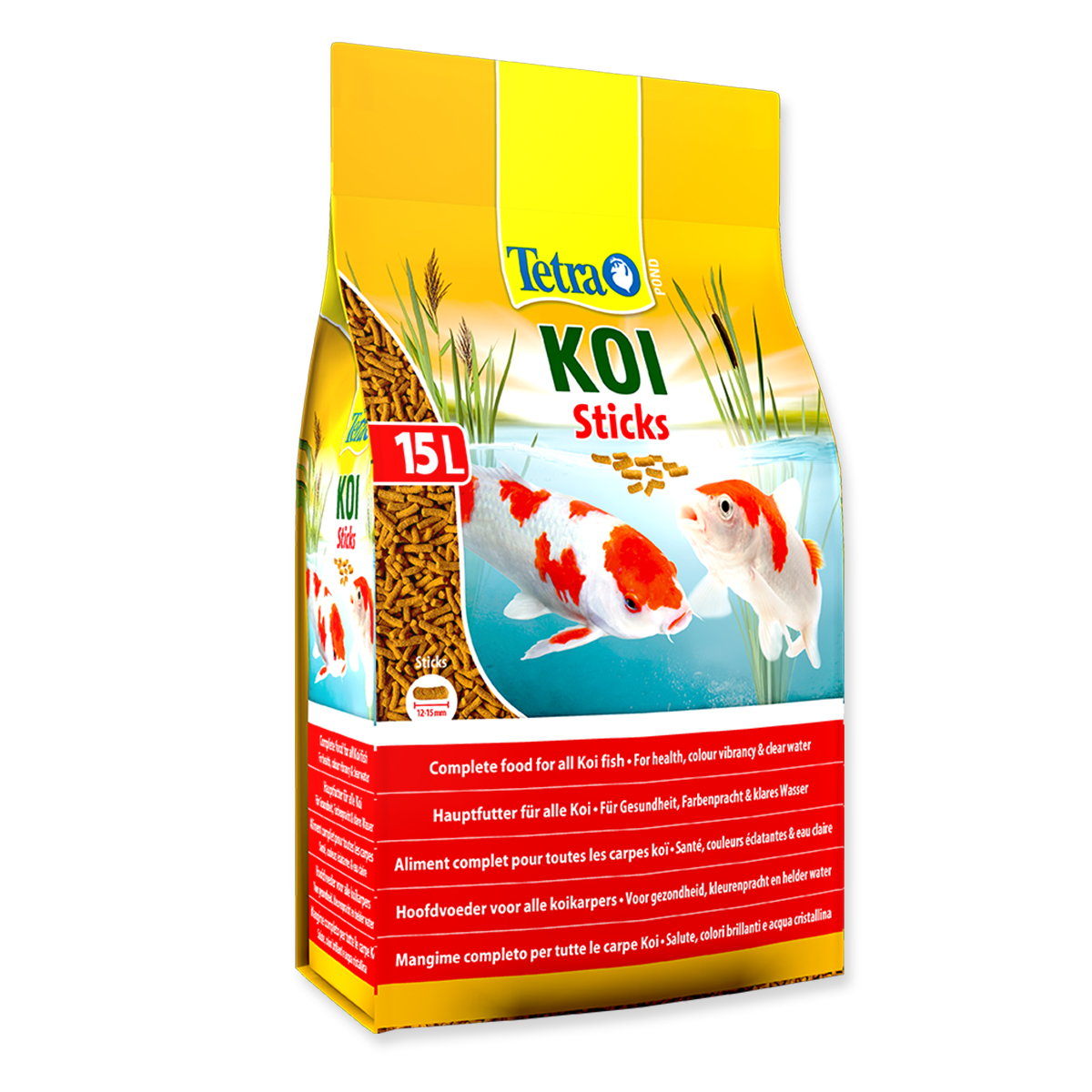 Tetra koi sticks 15 litre 2350g for Koi pond sticks
