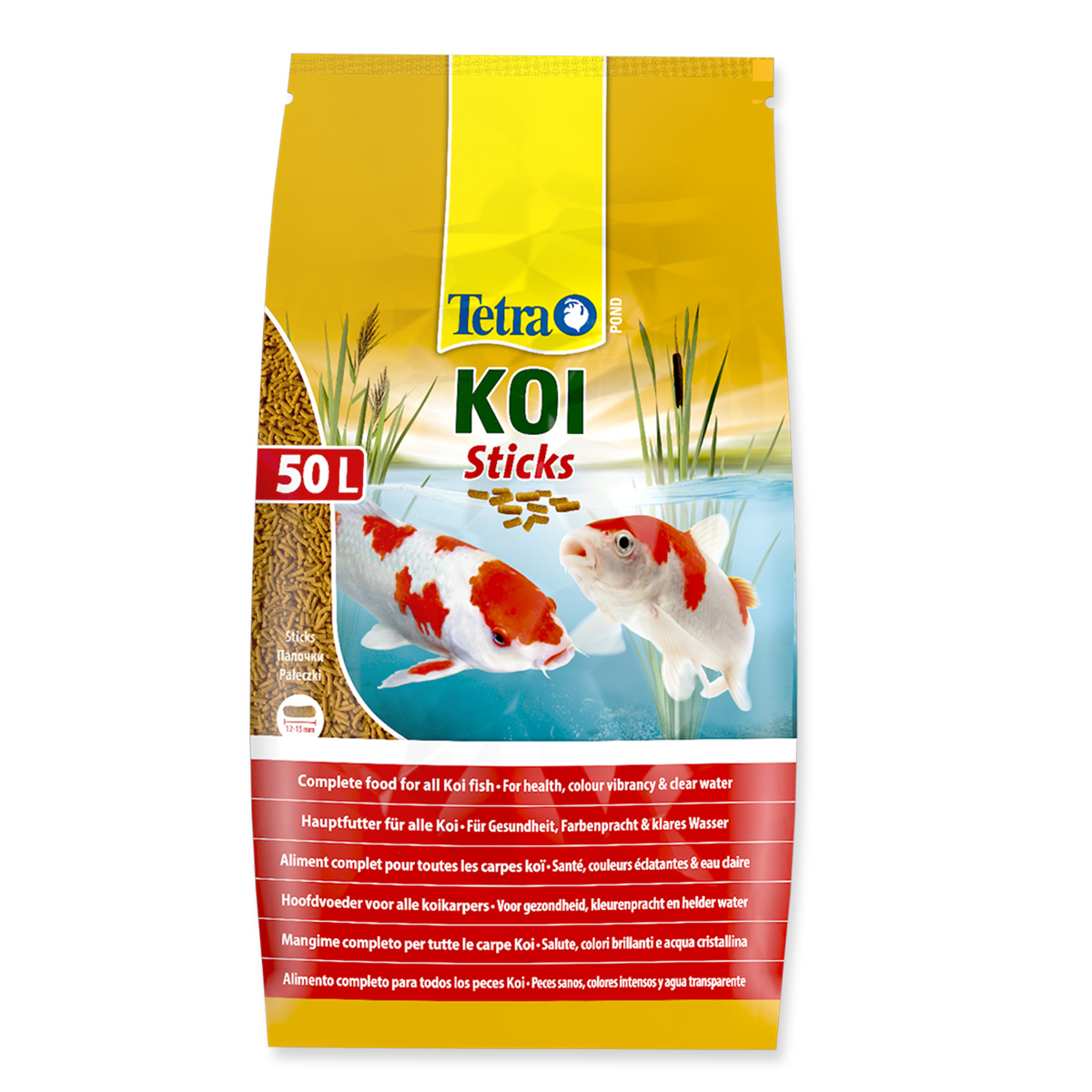 Tetra koi sticks 50 litre for Koi pond sticks