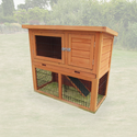 Monza 3FT Rabbit Hutch - Pisces