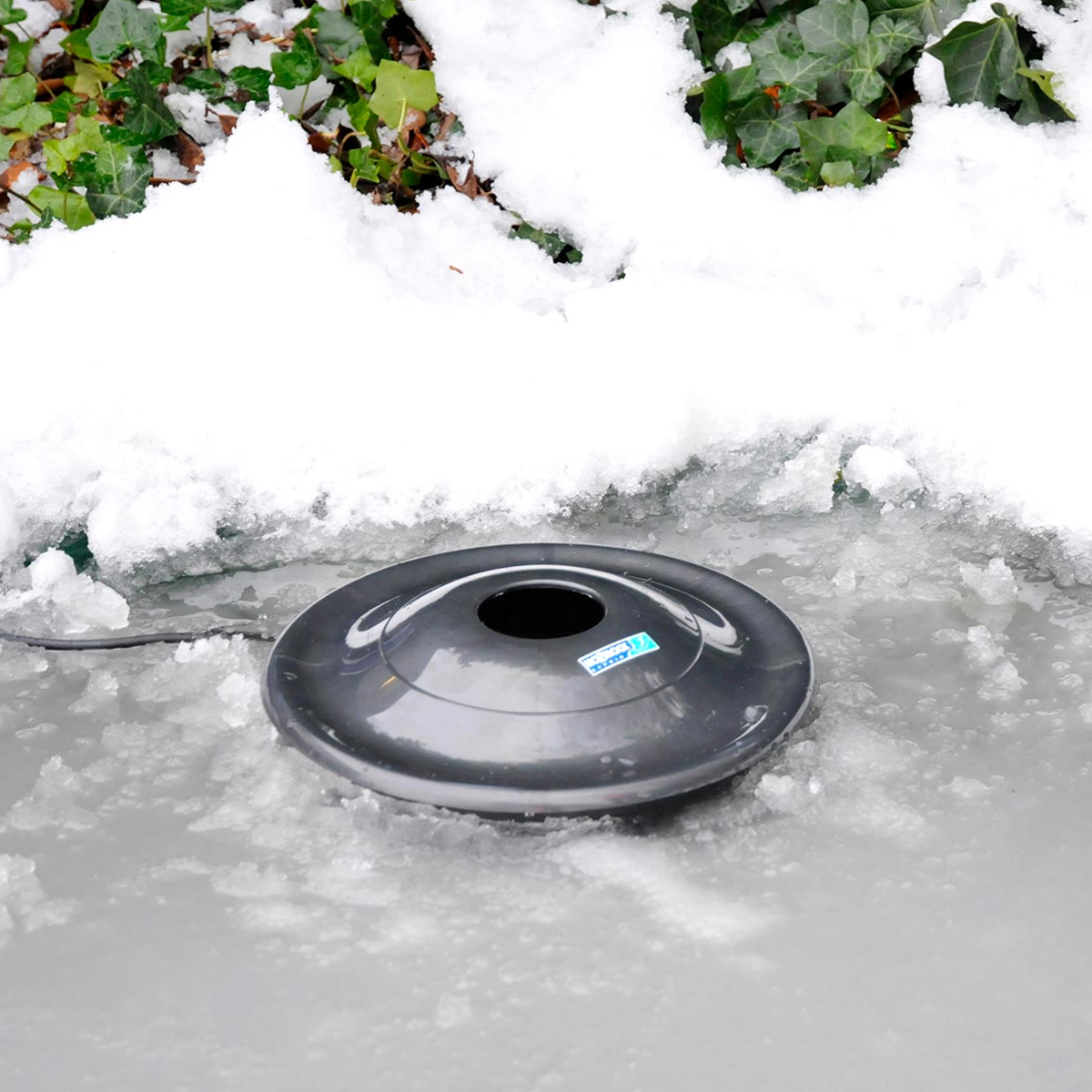 Hozelock floating dome fish pond heater de icer winter for Floating fish pond