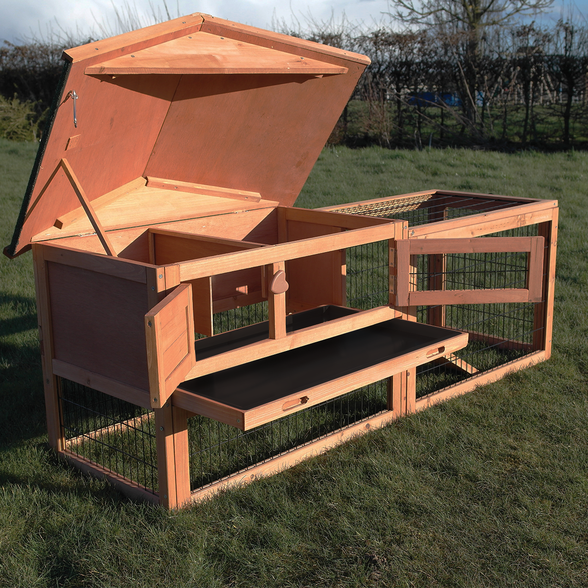 Verona rabbit hutch and run pisces for What is a rabbit hutch