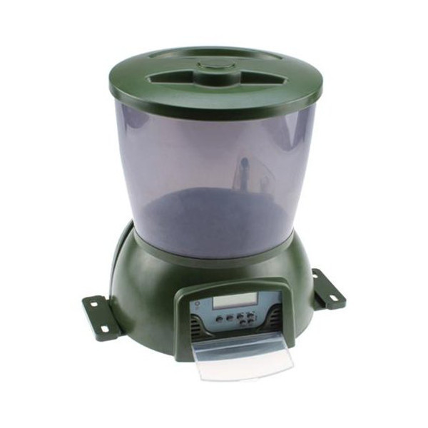 Automatic Pond Fish Food Feeder Holiday Koi Feed Timer