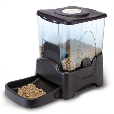 Pisces Large Automatic Pet Feeder - Black