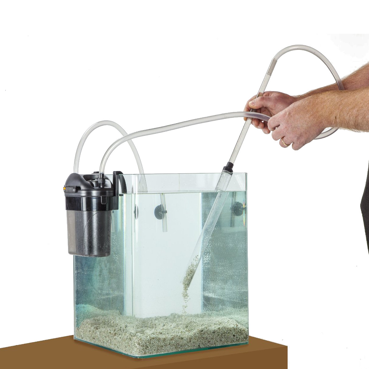 Gravel cleaner for aquarium eden 501 cleaning vacuum fish for Fresh water tank cleaning fish