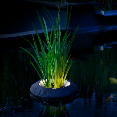 Velda Floating Plant Island with Lighting