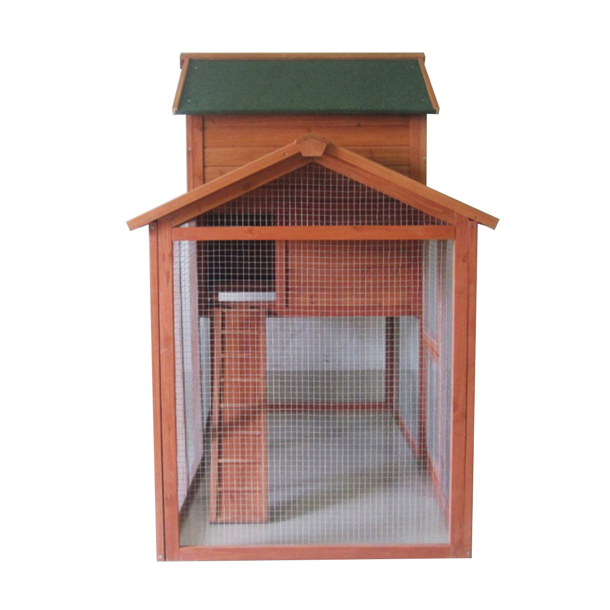 7ft Large Rabbit Hutch With Run Pet House Home Ferret And