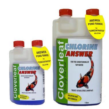 Cloverleaf Chlorine Answer Water Treatment