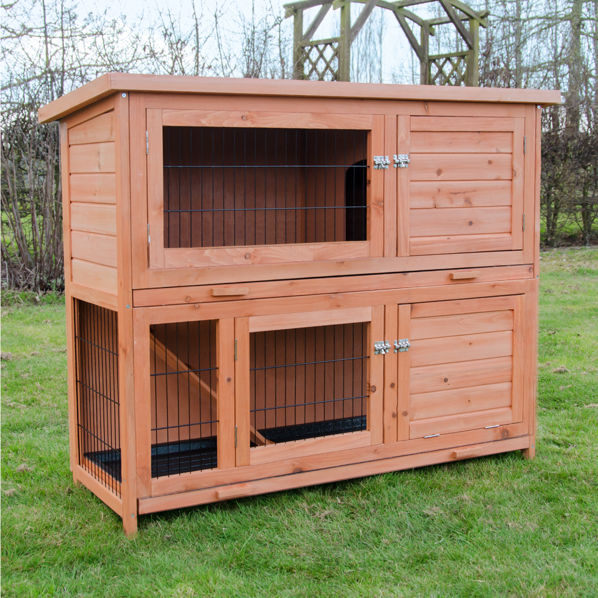 hutch new garden curved shop guinea rabbit the small houses pet pig hutches house animal