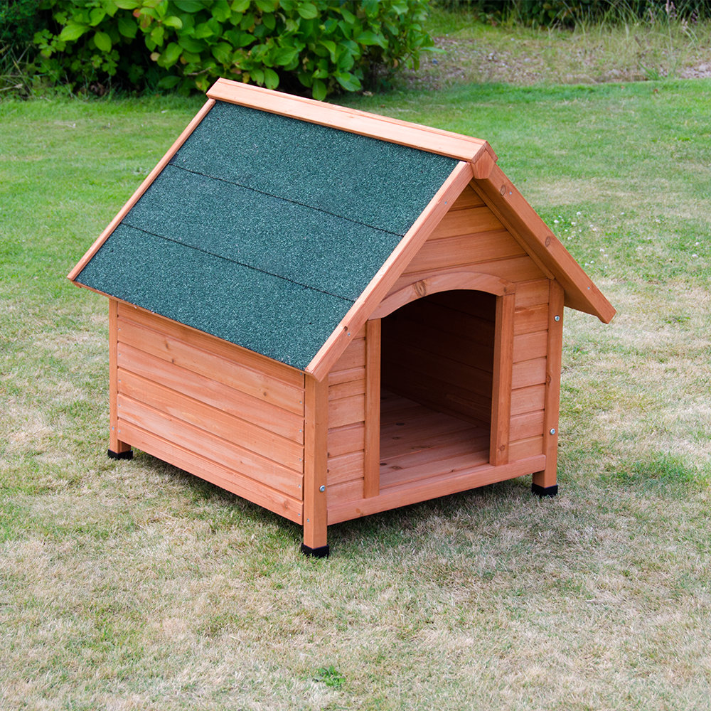 Oxford Dog Kennel Wooden Pet House Apex Roof Outdoor