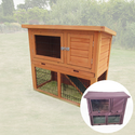 Monza 3FT Rabbit Hutch Including Cover - Pisces
