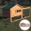 Verona Rabbit House with Cover - Pisces