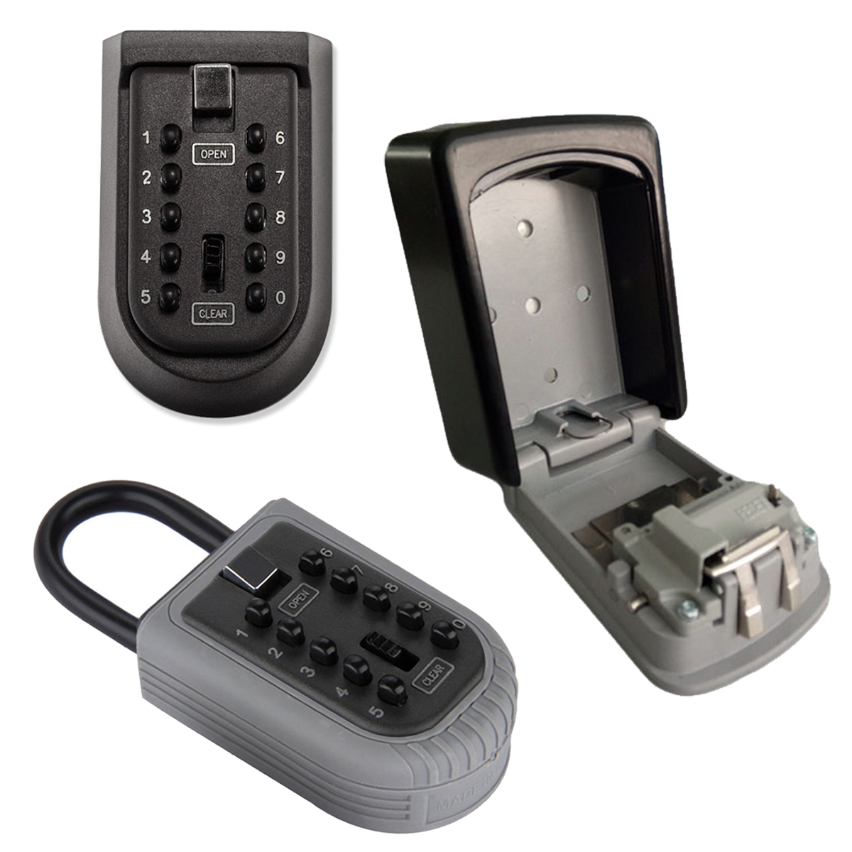 Outdoor High Security Wall Mounted Key Safe Box Secure