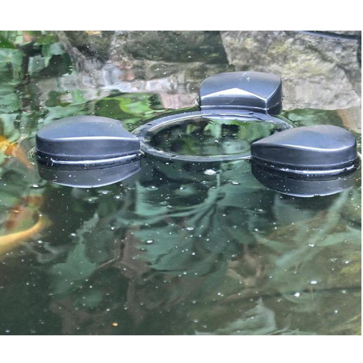Bermuda floating pond skimmer pump remove debris filter for Pond skimmer