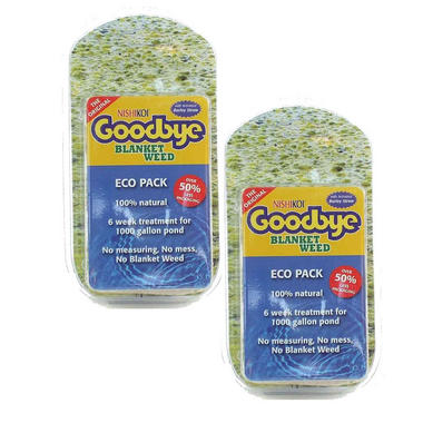 2 x Nishikoi Goodbye Blanketweed Eco Pack (6 x 25g)