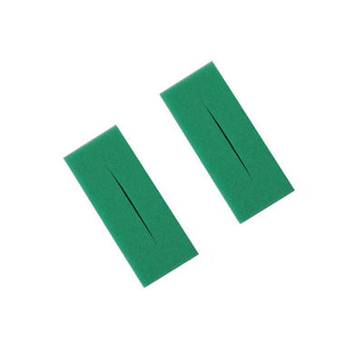 Twin Pack of Oase Biotec 12 Fine Green Foam