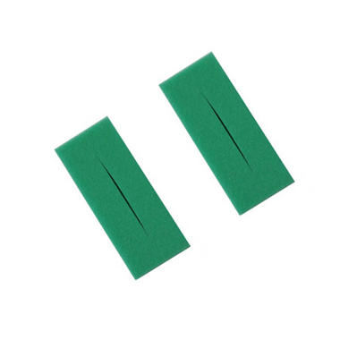 Twin Pack of Oase Biotec 12 Green Medium Foam