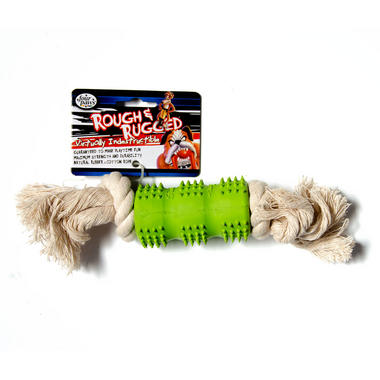 Rough and Rugged Dental Rope Small Dog Toy - Four Paws