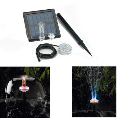 Bermuda Twilight Clear Solar LED Jet Set
