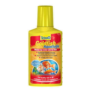 Tetra Aquarium Goldfish Aquasafe 100ml