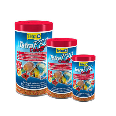 Tetra TetraPro Colour Tropical Aquarium Fish Food