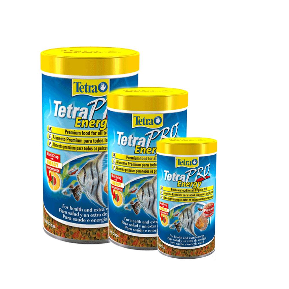 Tetra tetrapro energy aquarium food for Fish on energy