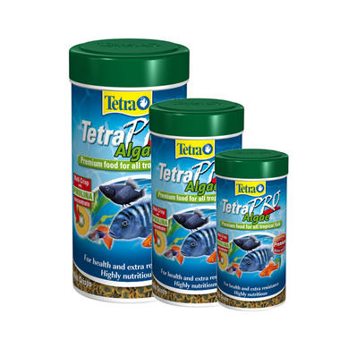 Tetra TetraPro Algae Aquarium Fish Food