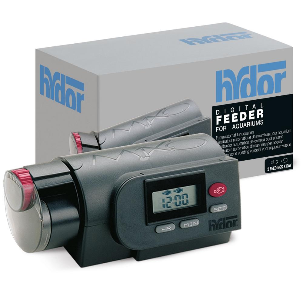 Hydor mixo digital automatic aquarium feeder for Best automatic fish feeder