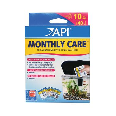 API Aquarium Monthly Care Kit