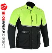 Texpeed Black & Hi-Vis Short Length Armoured Jacket