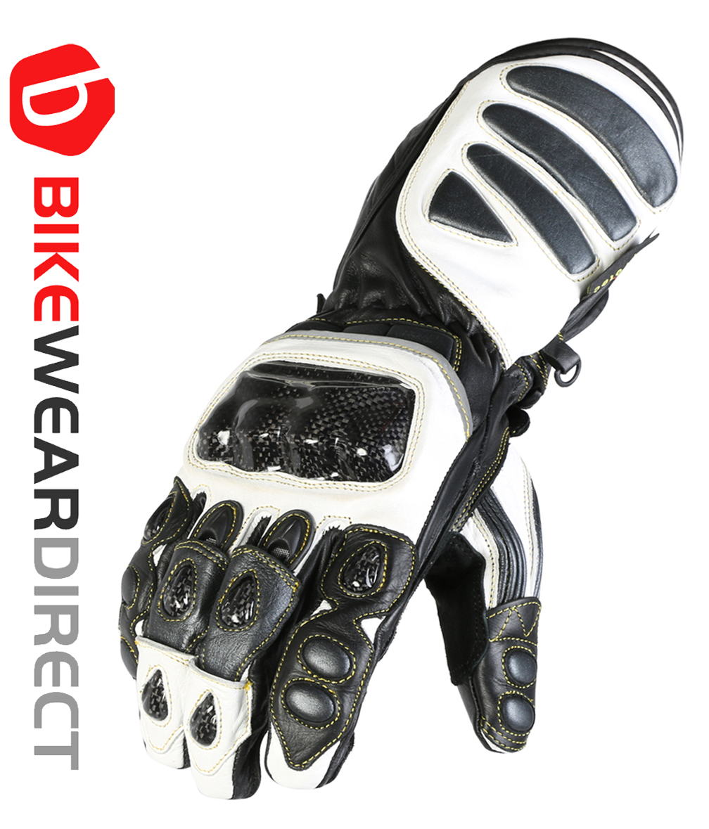 Texpeed Gunmetal Grey Grip Switch Leather Gloves