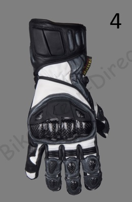 Collection Of Motorcycle Cowhide Leather Racing Motorbike Gloves Summer / Winter