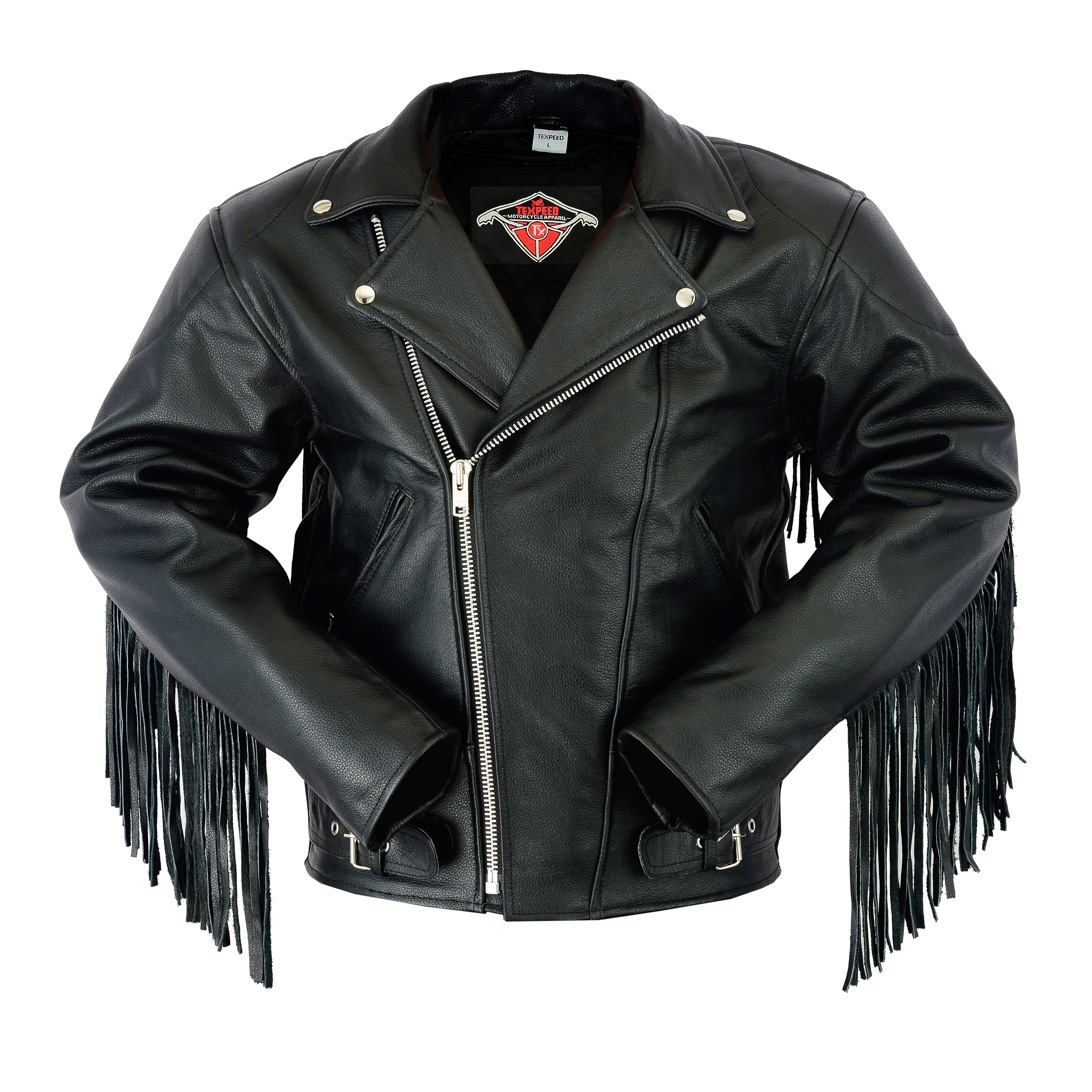 Blouson Femme Cuir Véritable Perfecto Classique Biker Brando Style Motard High Quality Materials Parts & Accessories