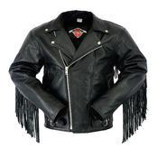 Texpeed Mens Leather Brando Jacket