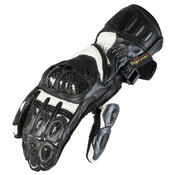 Texpeed Gunmetal Grey Leather Gloves