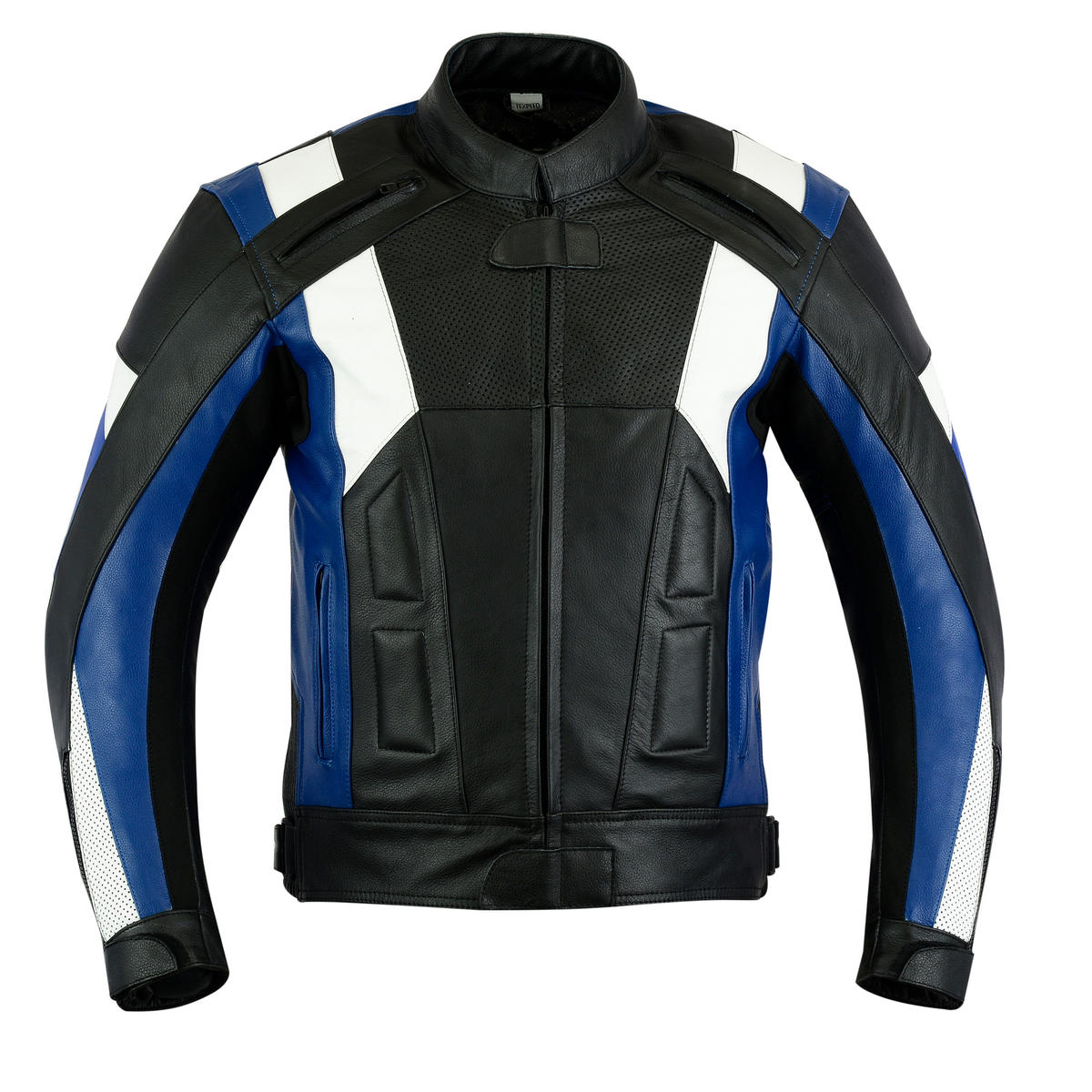 Texpeed Mens Veneto Leather Racing Jacket