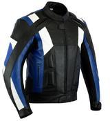 Texpeed Mens Veneto Leather Racing Jacket