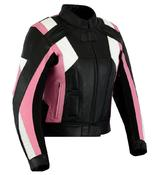 Texpeed Ladies Rosa Leather Racing Jacket